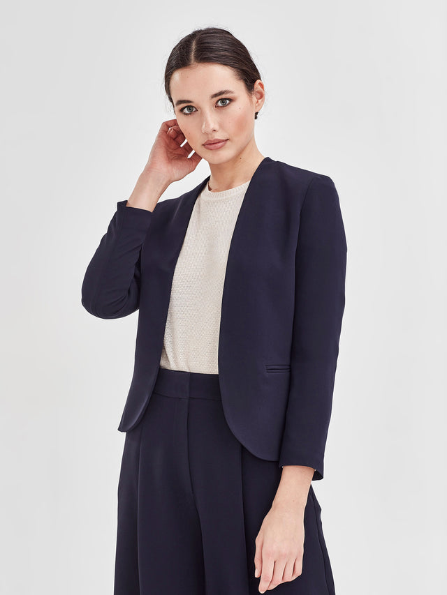 West Blazer (Luxe Suiting) Navy