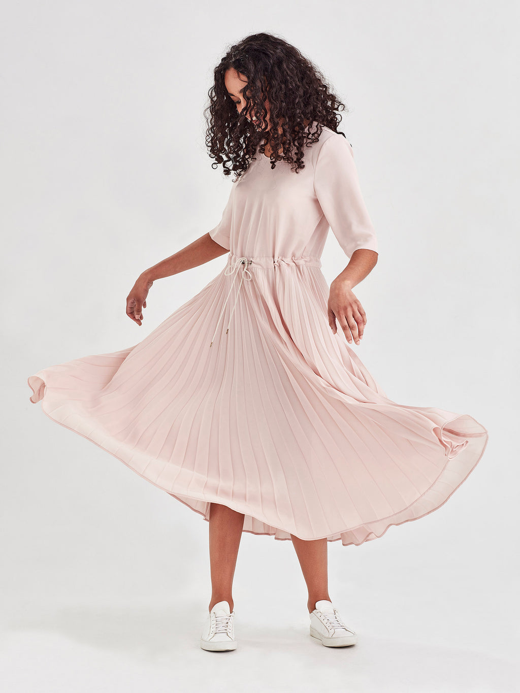 Betsy Pleat Dress (Matte Pleat) Ballet