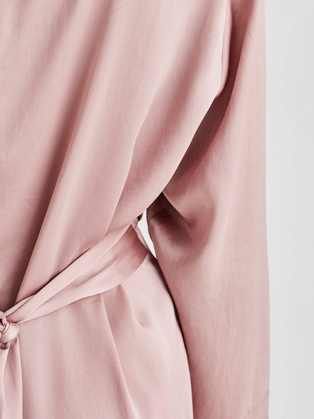 Valencia Dress (Satin Triacetate) Blush