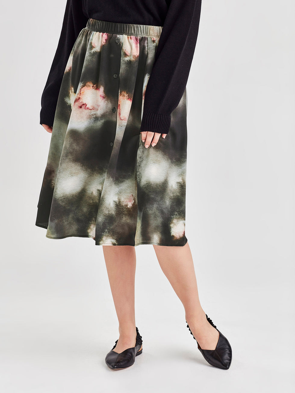 Strike Skirt (Super Nova Silk) Galaxy