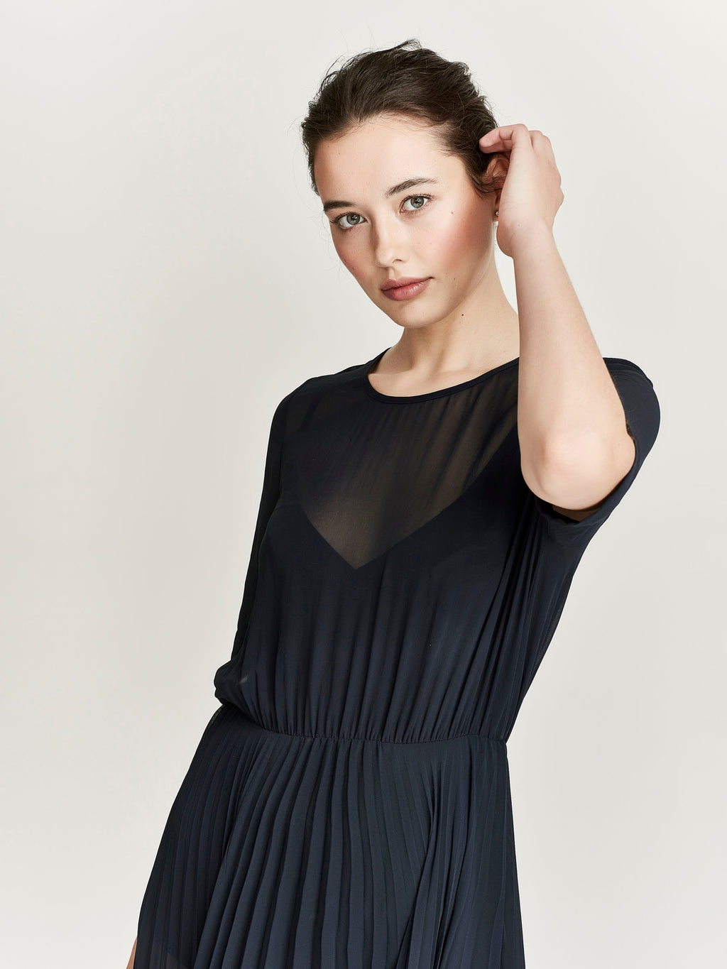Celia Dress, Navy