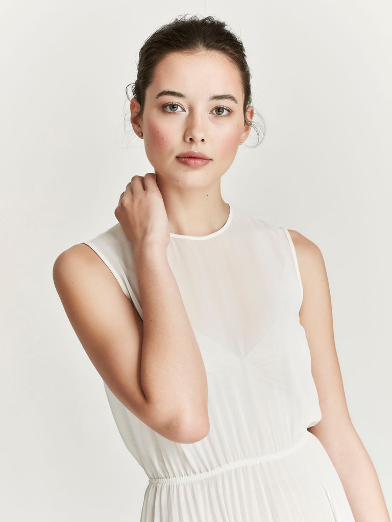 Heather Dress, Ivory