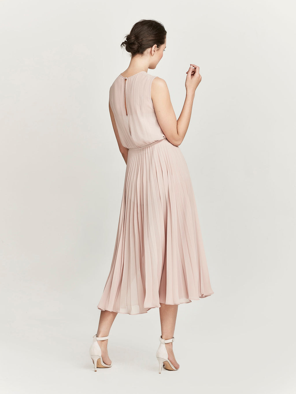 Heather Dress, Tea Rose