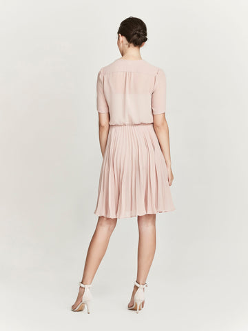 Oliver Dress, Tea Rose
