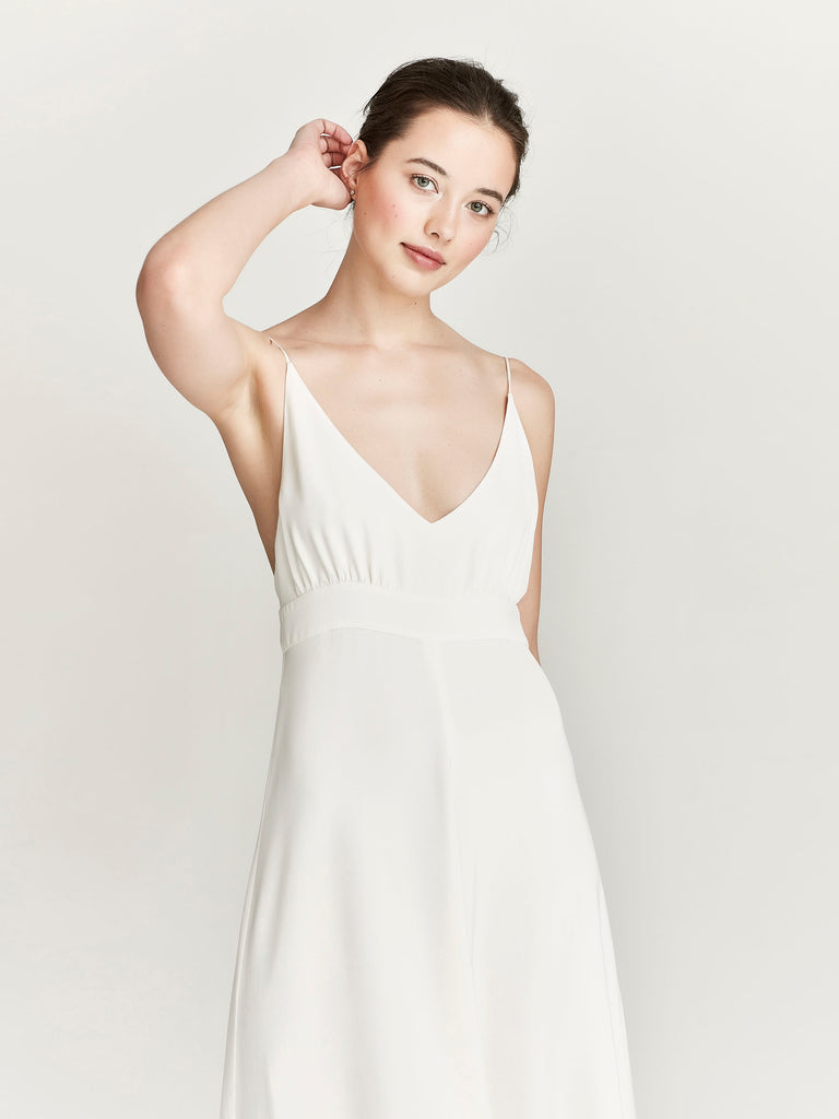 Starling Dress, Ivory