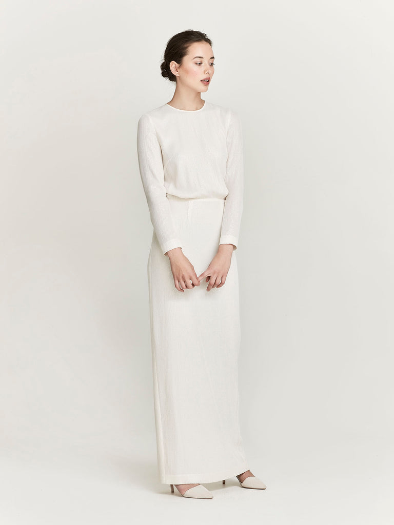 Simmons Dress, Pearl