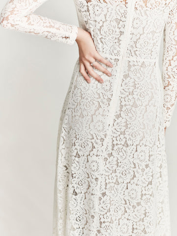 Corvette Dress, Cream