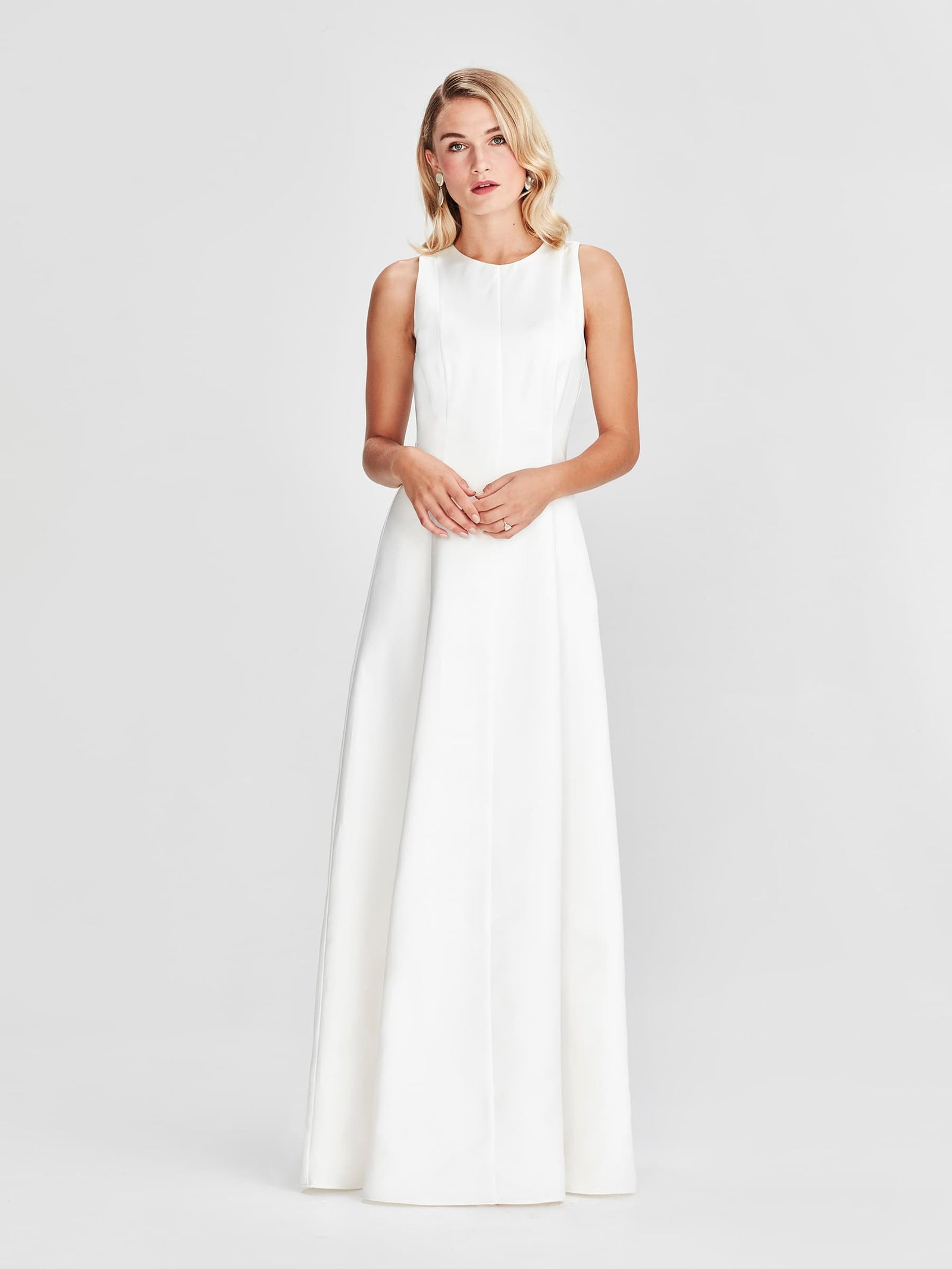 Mercer Dress, Ivory