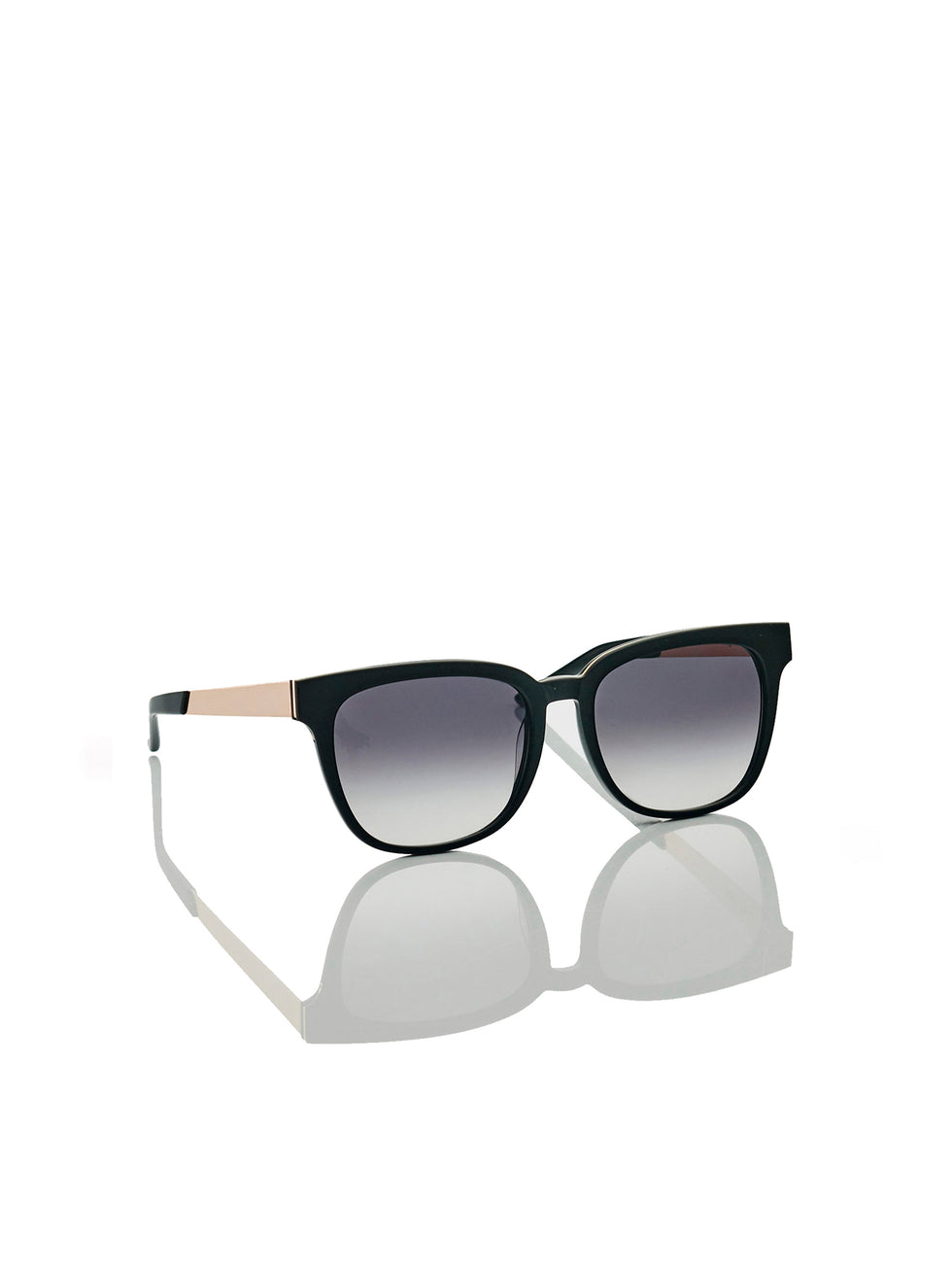 JH Eyewear No. 05 (acetate) black gold