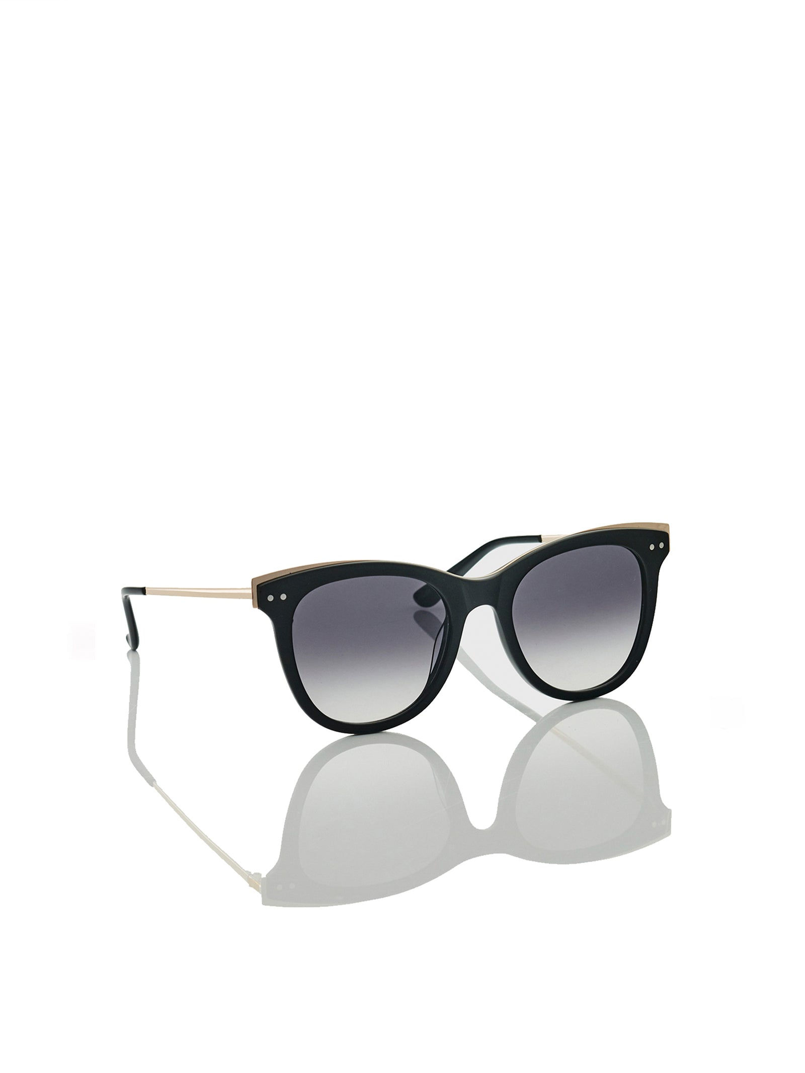 JH Eyewear No. 06 (acetate) black gold