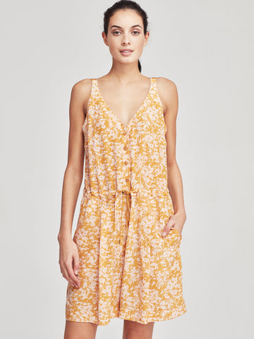 Sal Jumpsuit (Damas Silk) Sunshine