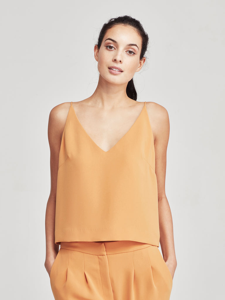Bay Cami (Luxe Triacetate) Marigold