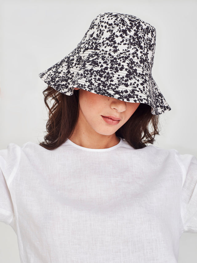 Amalfi Hat (Gypsophila Cotton) Silhouette
