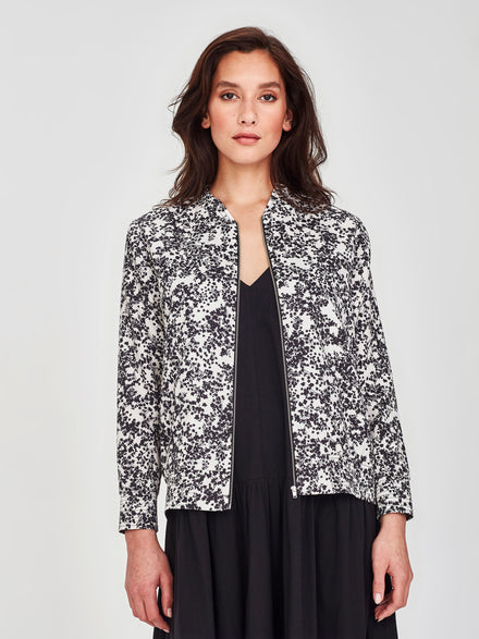 Sateen Bomber (Gypsophila Cotton) Silhouette