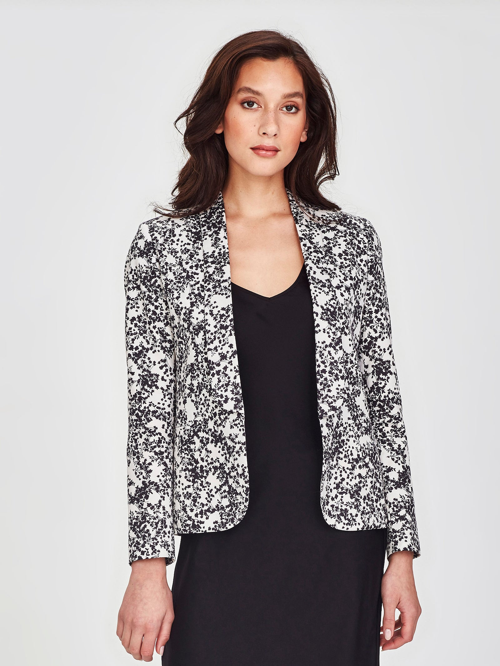 Tuxe Jacket (Gypsophila Cotton) Silhouette