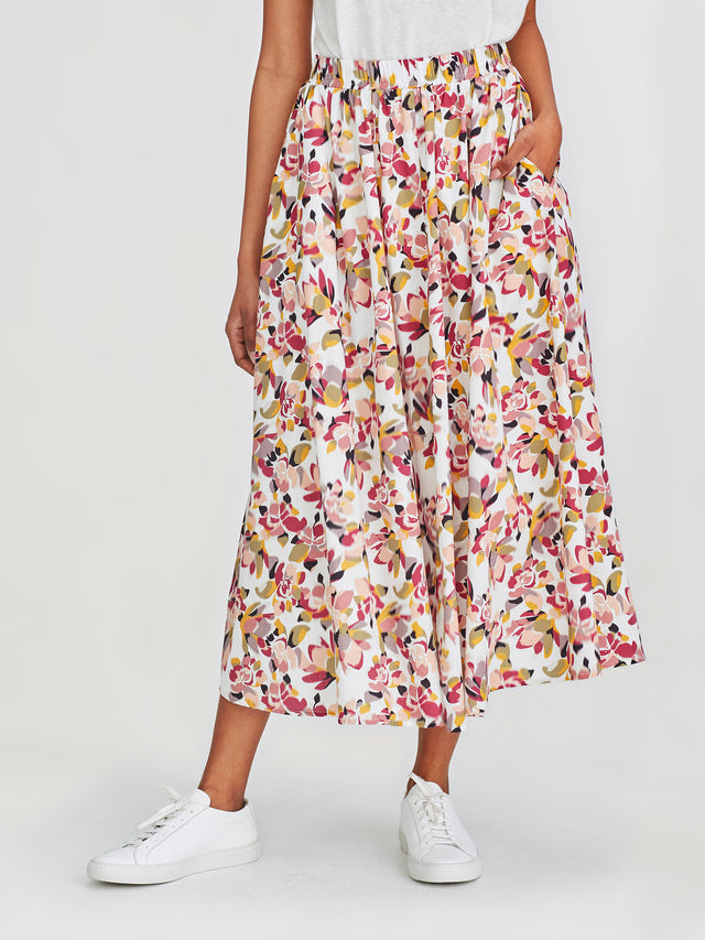 Arcade Skirt (Retro Floral) Carnival
