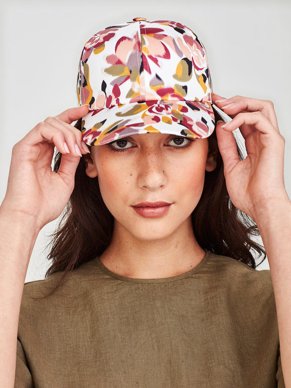 Diamond Cap (Retro Floral) Carnival