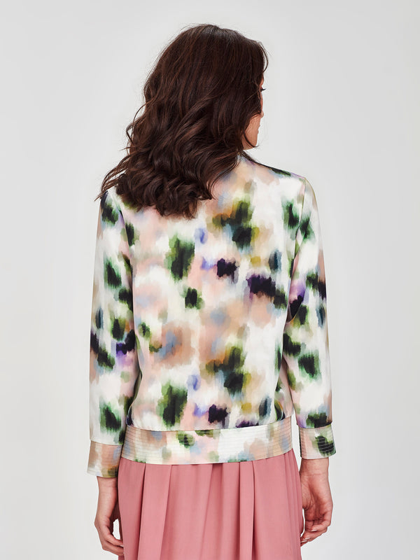 Silk Bomber (Smudge Silk) Dapple