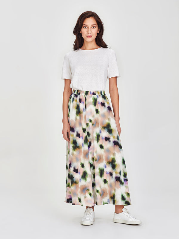 Vicky Skirt (Smudge Silk) Dapple