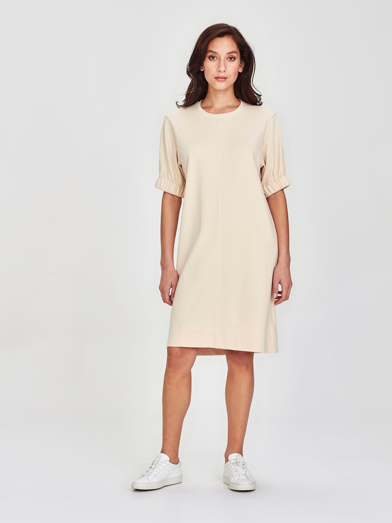 Blossom Dress (Terry Knit) Buttermilk