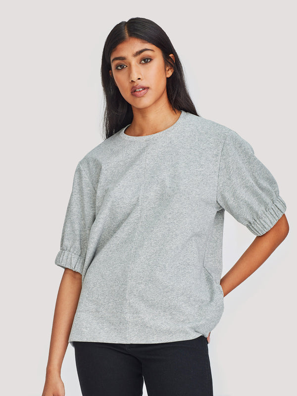 Blossom T (Terry Knit) Grey Marle