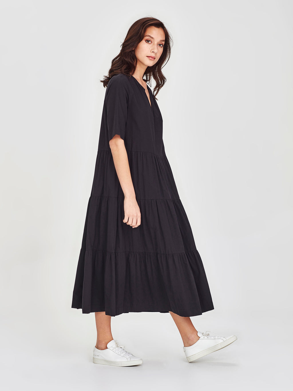 Forever Tunic (Washed Cotton) Black