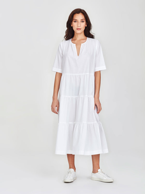 Forever Tunic (Washed Cotton) White