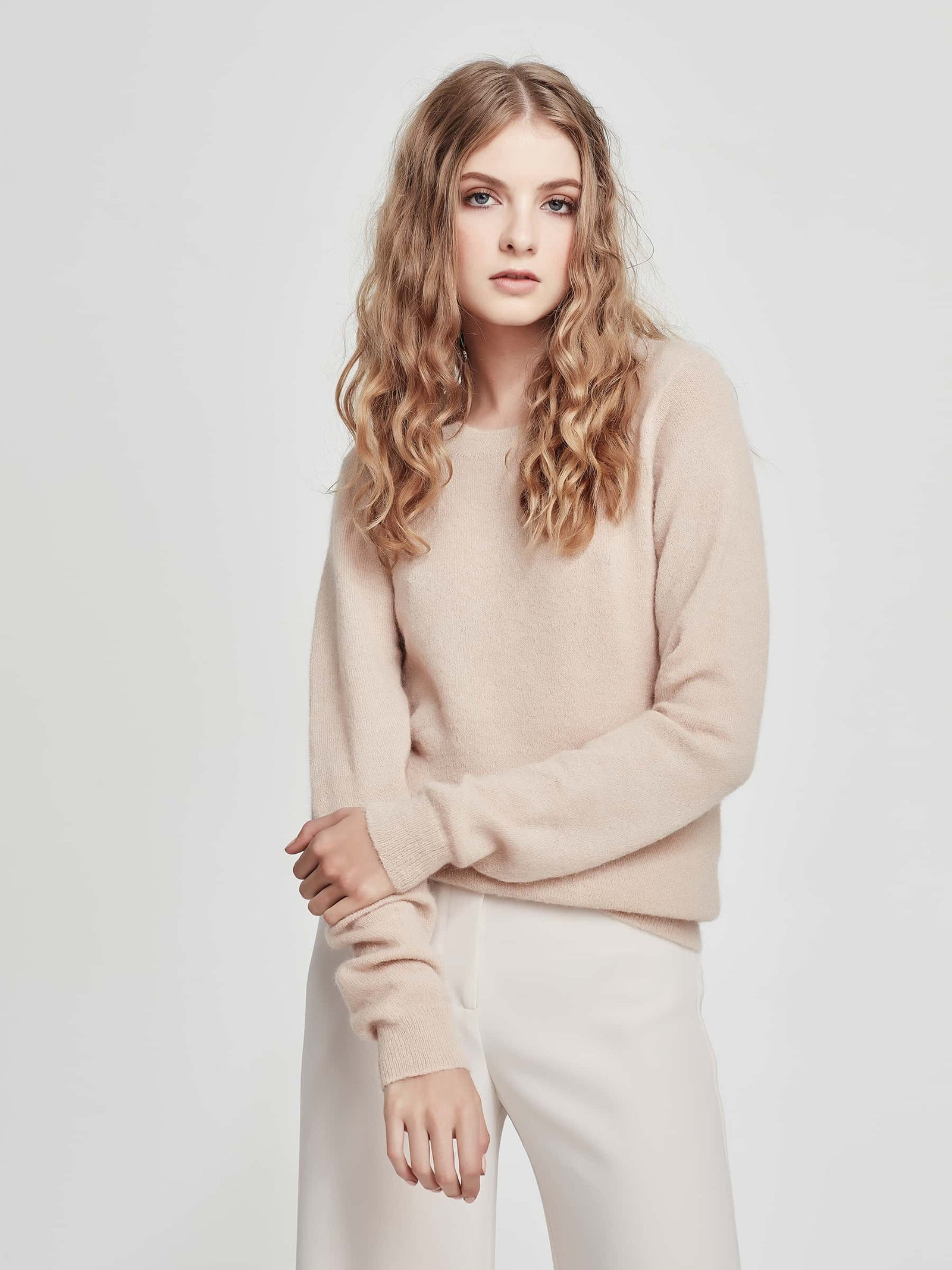 Joe Mohair Sweater (Mohair) Bare