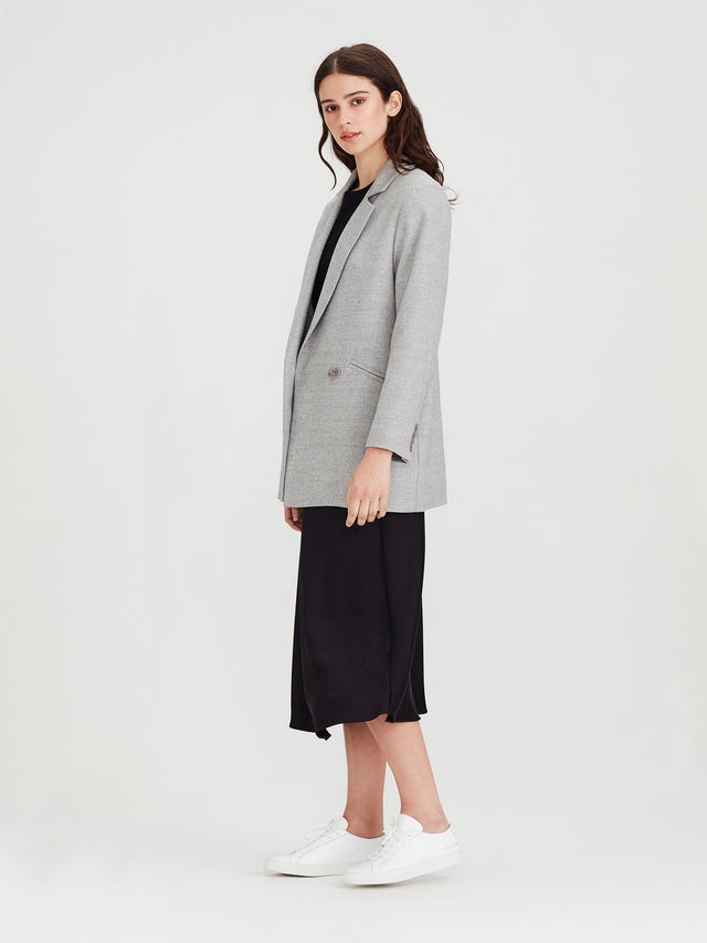 Edgar Blazer (Soft Wool Tweed) Tweed Marle