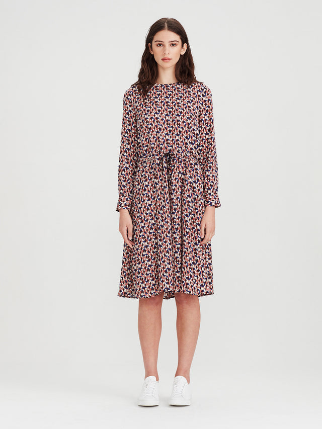 Sasha Dress (Tesalate Print) Jewel