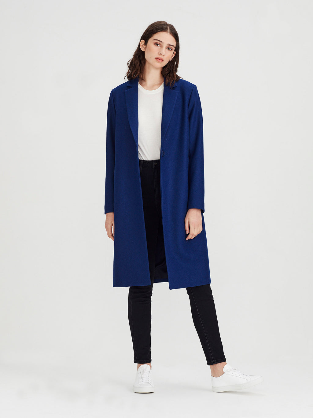 Webster Jacket (Wool Melton) Electric Blue