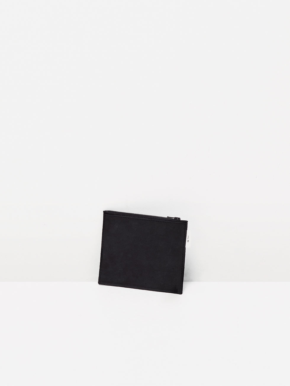 JH Leather Wallet (NuBuck Leather) Black