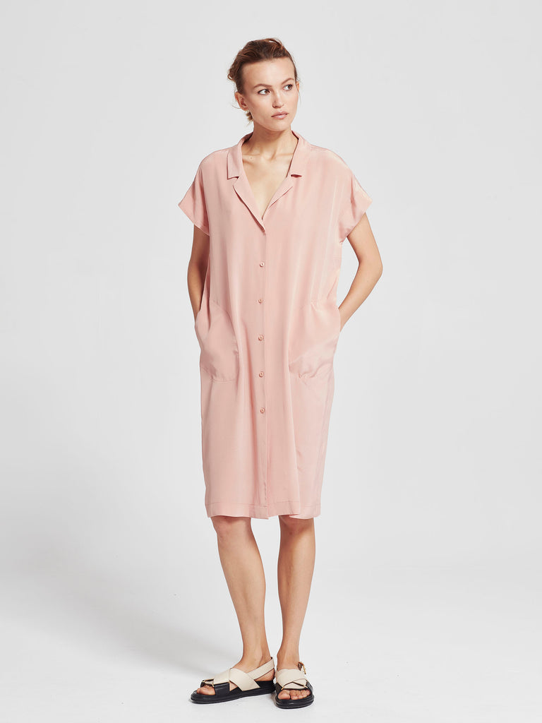 Shade Shirt Dress (Silk CDC) Shell