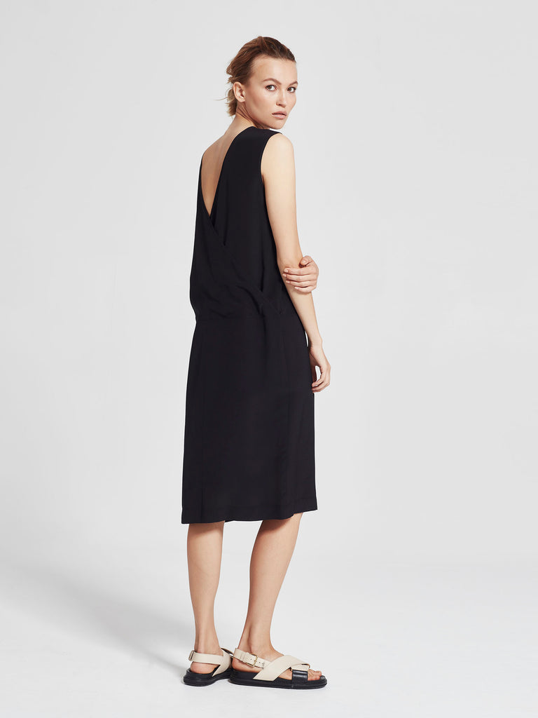 Mac Dress (Heavy Silk CDC) Black
