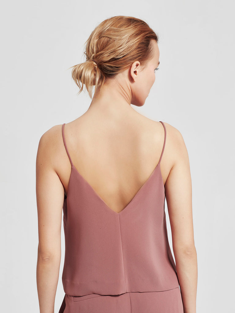 Bay Cami (Luxe Triacetate) Rose