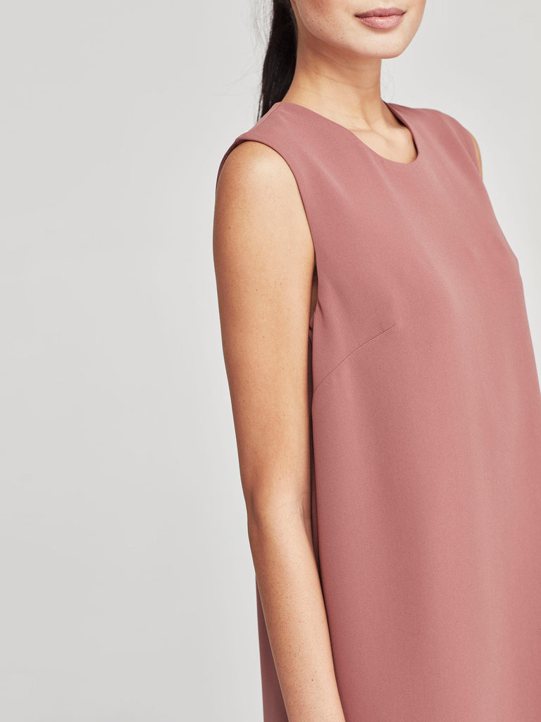 Melinda Dress (Luxe Triacetate) Rose