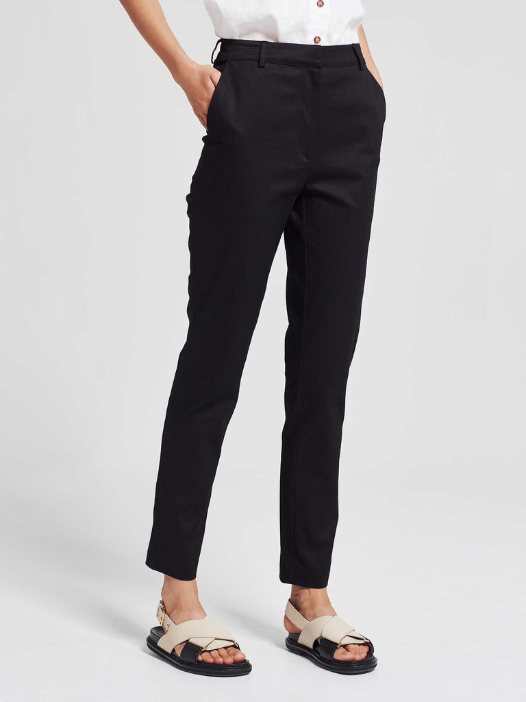 Colt Trouser (Stretch Cotton) Black