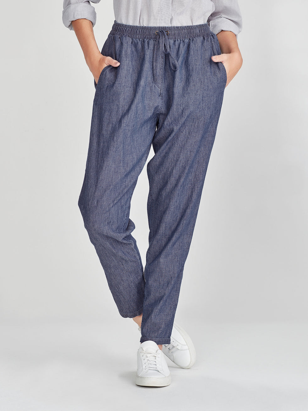 Leonard Pant (Cotton Chambray) Chambray