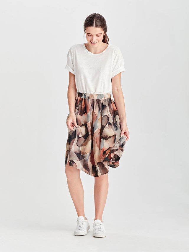 Archer Skirt (Cloud Silk) Cloud