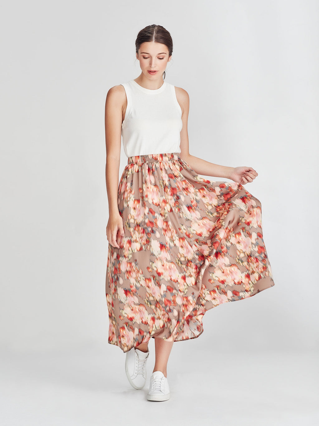 Arcade Skirt (Floral Shift) Tapestry