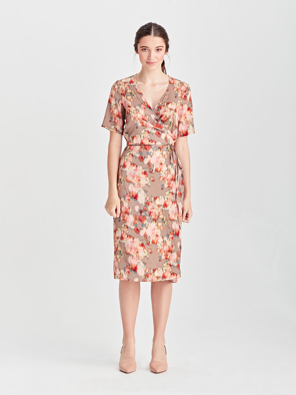 Teri Wrap Dress (Floral Shift) Tapestry