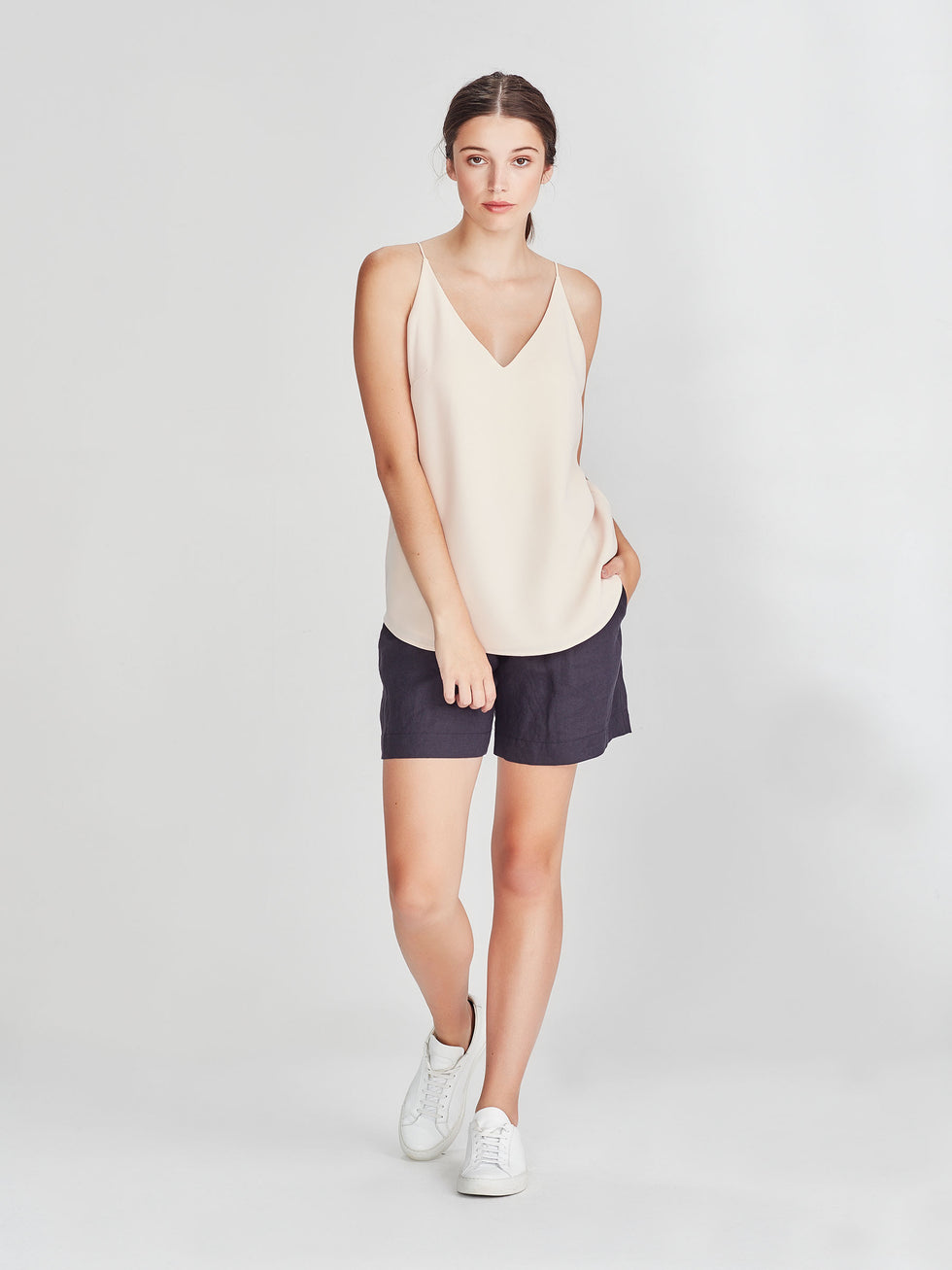 Barette Cami (Luxe Coloured Suiting) Shell