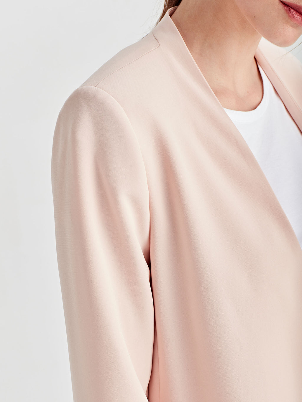 Lindsay Blazer (Luxe Coloured Suiting) Shell