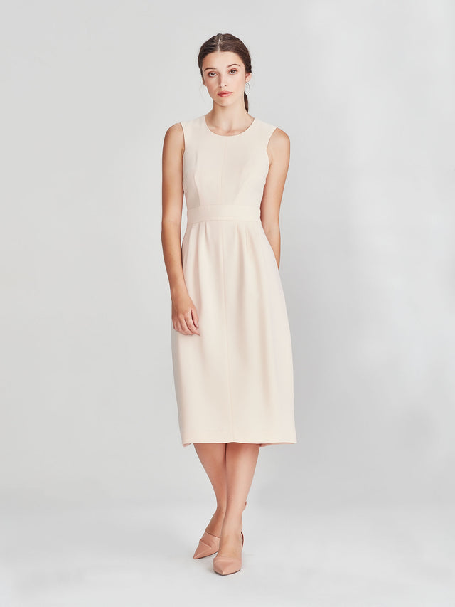 Nicole Dress (Luxe Coloured Suiting) Shell