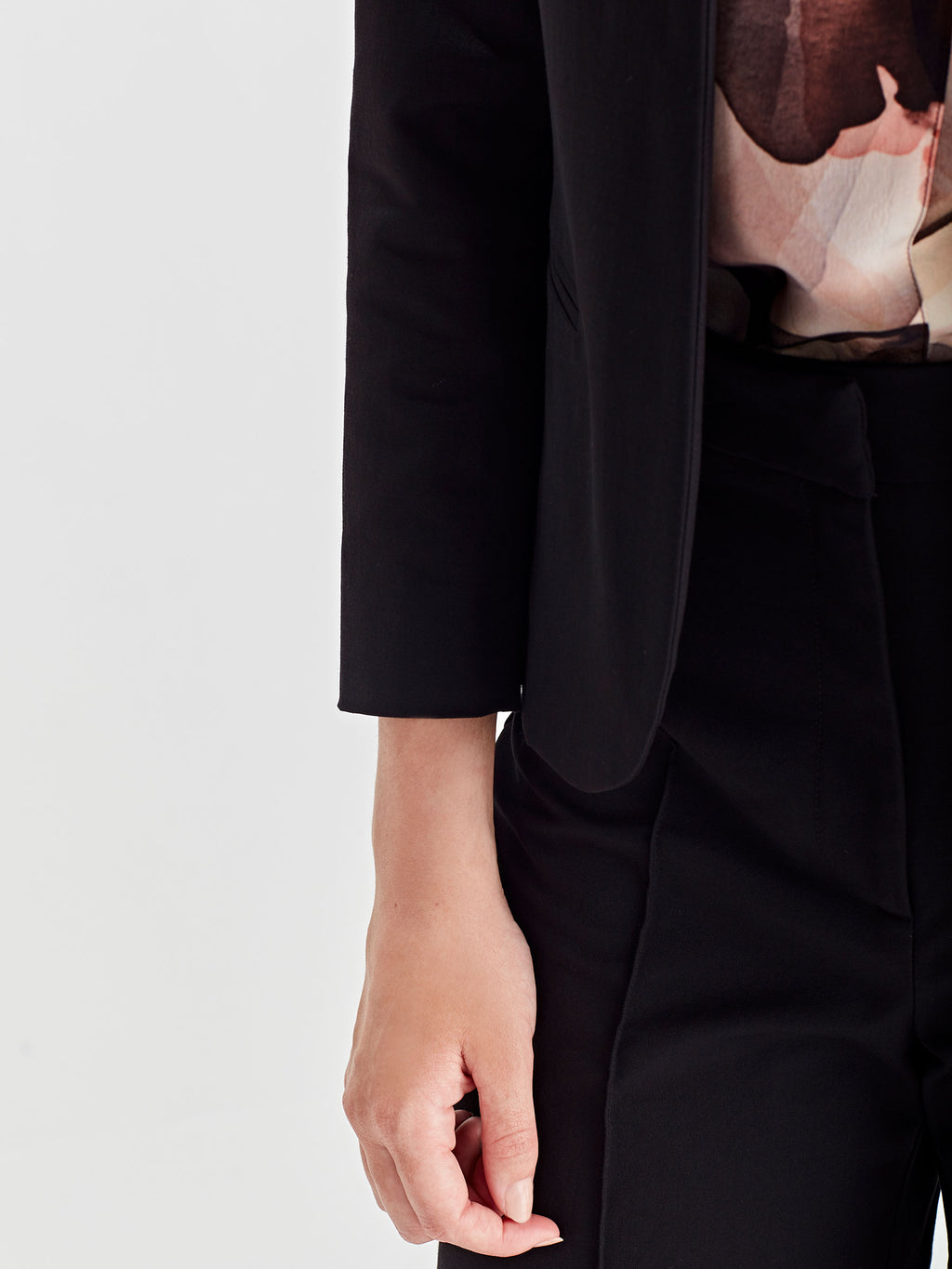 North Blazer (Luxe Suiting) Black