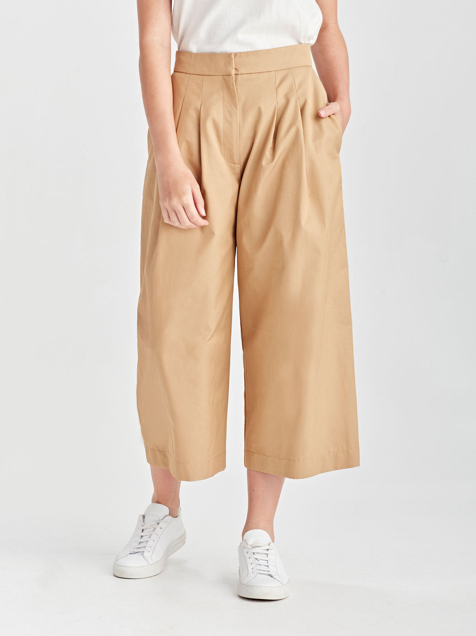 Hillary Culotte (Luxe Canvas) Safari