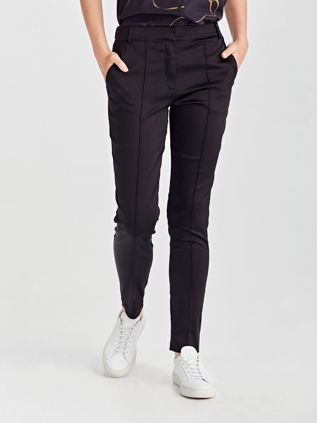 Tuxedo Pant (Stretch Suiting) Black