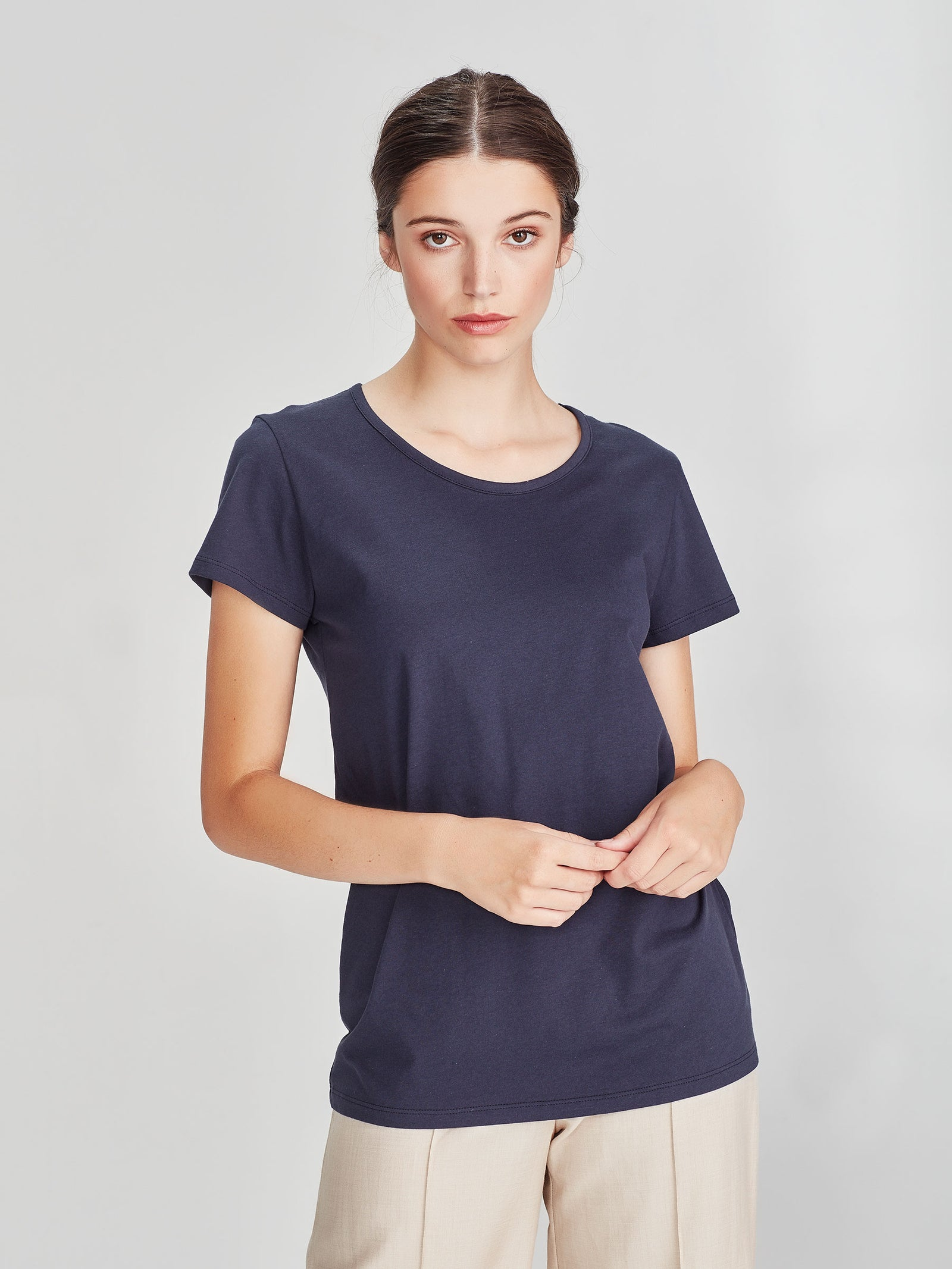 Dean T (Soft Cotton Jersey) Navy