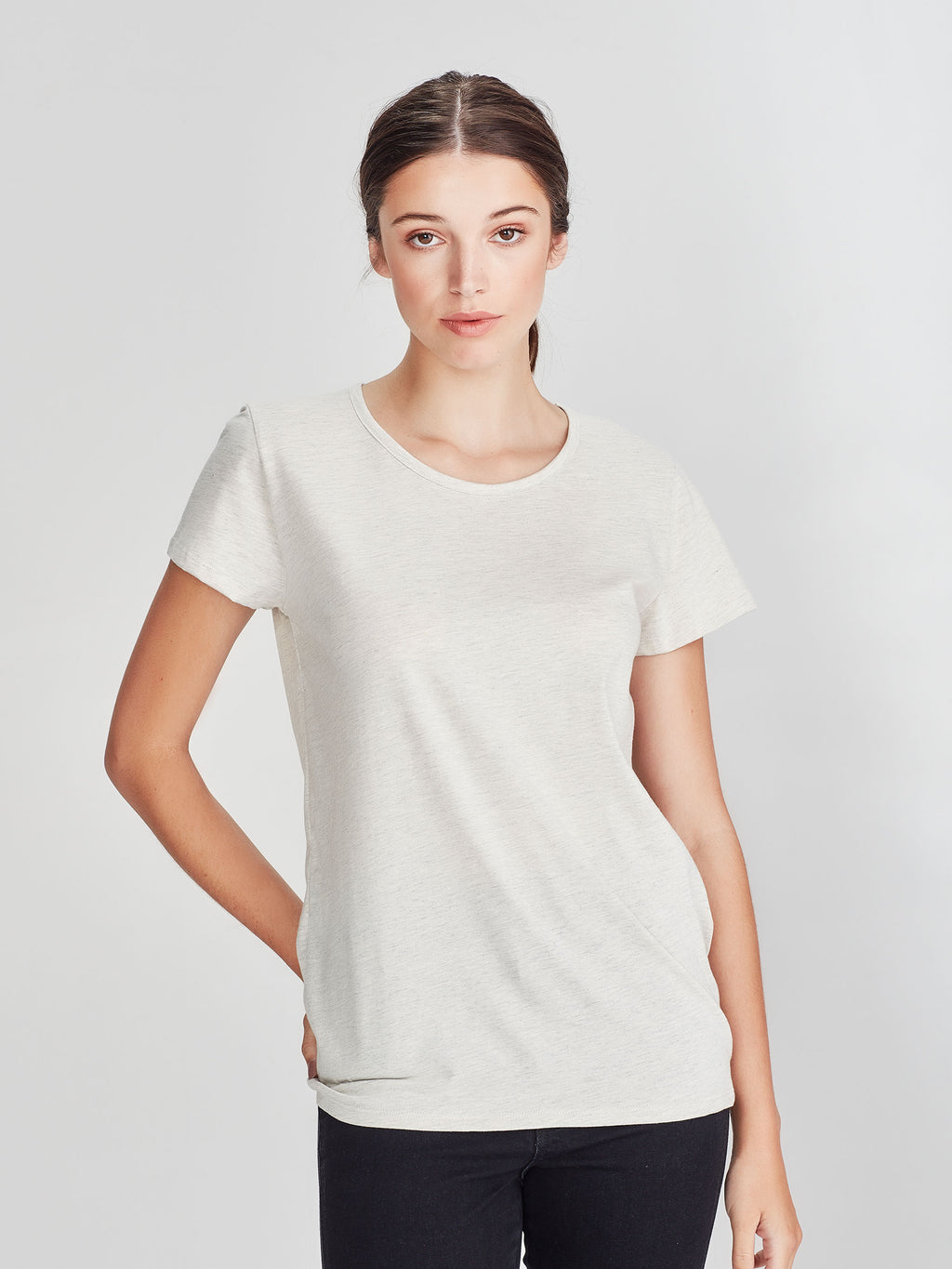 Dean T (Soft Cotton Jersey) Oatmeal