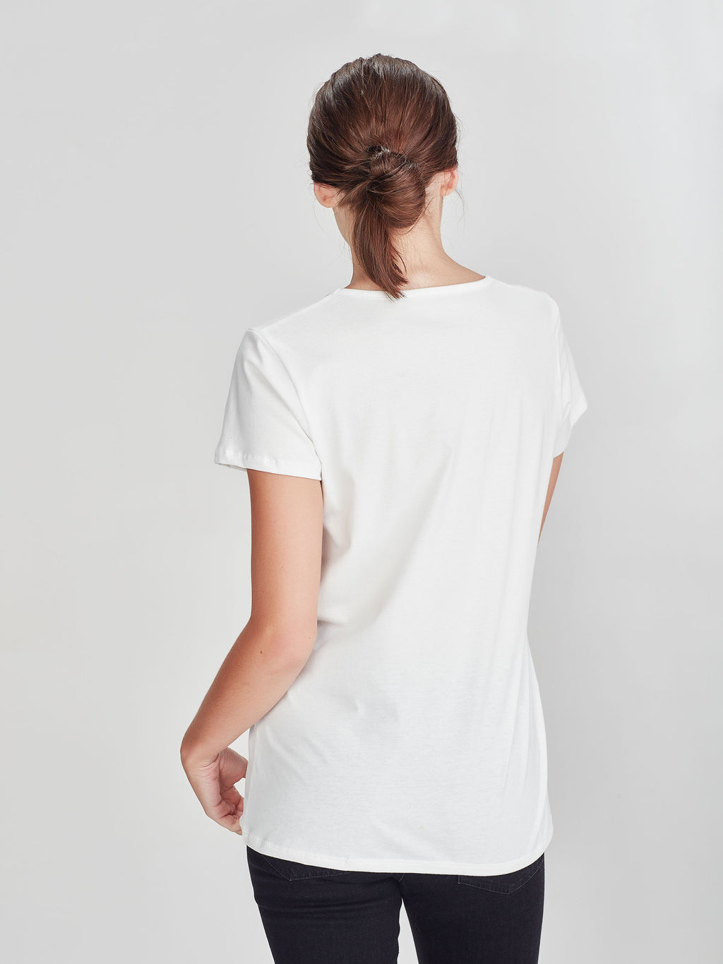 Dean T (Soft Cotton Jersey) White